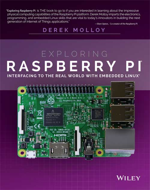 Exploring Raspberry Pi – Companion Site for the book